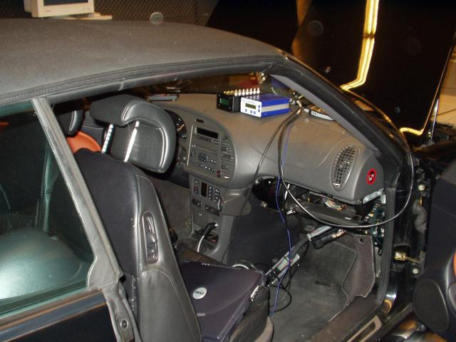 Plugged on Saab 9 3 Aero Race Car