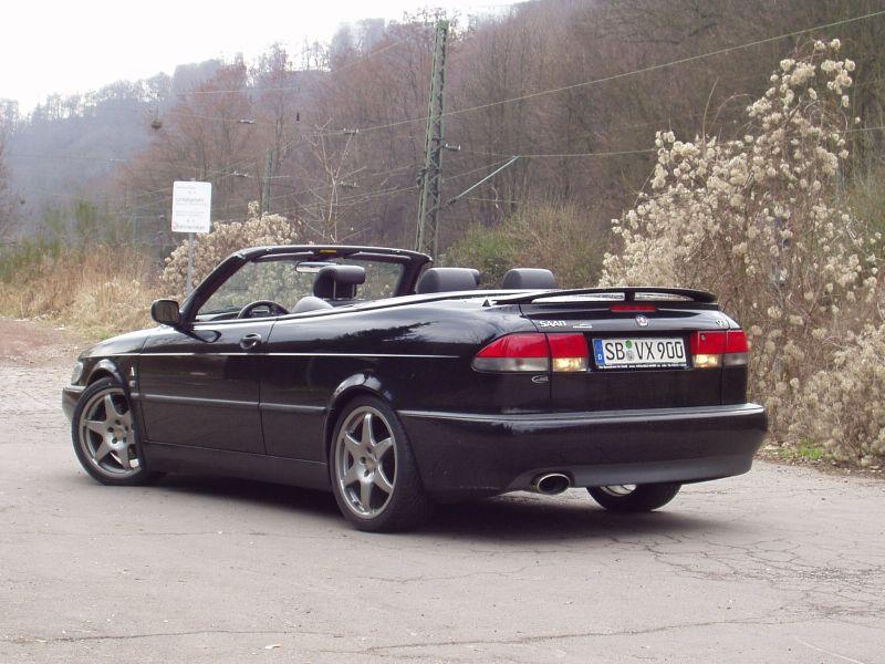 First project: ´99 Saab 9-3 Viggen Convertible