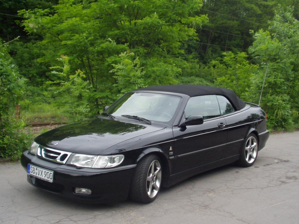 Geschlossen on Saab 9 3 Convertible